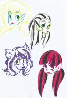 marker ghouls by SiXProductions
