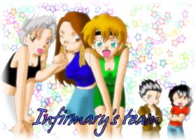 The_Infirmary's_Team by Kyomi89