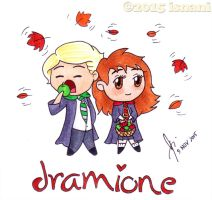 Dramione and Drapple by isnani
