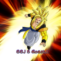 Gogeta SSJ5 Wallpaper by Nassif9000