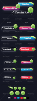 Next Gen Buttons by lickmystyle
