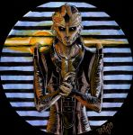 Mass Effect 2 - Thane color by SweetSnail