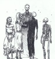 Zombie Wedding by TheIncredibleHibby