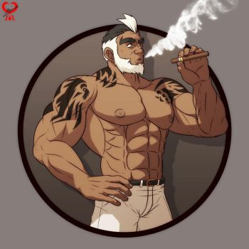 The Smoker by leomon32