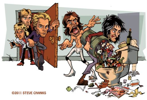 NO The BAND The Police by SteveChanks
