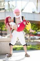 Erza Scarlet and Natsu Dragneel by MinhVisual