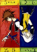 Two sides of the same coin  kh by b-kitten