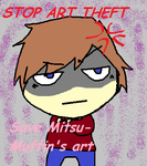 MitsuMuffin- Save her art! by filostarr