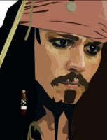 CAPTAIN Jack Sparrow by musicisnotmisery