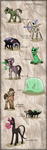 The Land of MineCraft - OverWorld Monsters by InuHoshi-to-DarkPen
