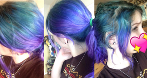 my current hair color :3 by catnip5