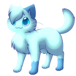 Frost likes to be small and fluffy by FlareAKACuteFlareon