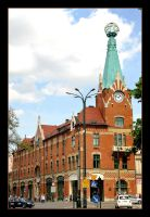 Literary Publishing Building In Cracow by skarzynscy