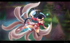 League of Legends - AHRI by ElinTan