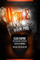 Orange-Black Halloween Party by ImperialFlyers