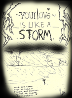Your Love Is Like A Storm by nay-only