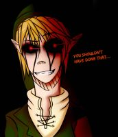 BEN Drowned-You shouldn't have done that.. by IchiroChan