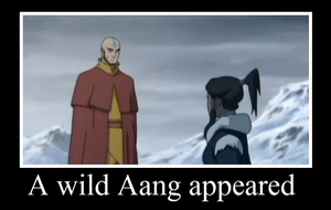 A wild Aang by I-wuv-Bolin