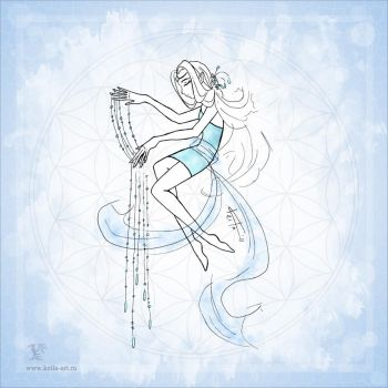Flower of life : Water by Keila-the-fawncat