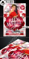 Valentines Day Affair Flyer Template by ScorpiosGraphx