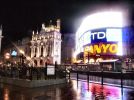 Piccadily Circus by Siiil