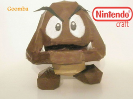 Goomba Papercraft by TheSkywardSword100