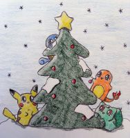 A Pokemon Christmas by chikadee34
