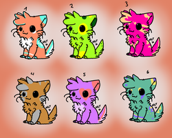 FREE kitty adoptables batch [CLOSED] by ChezuAdoptables