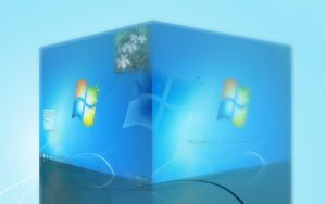 Windows 7 Wallpaper 3D by FeelLike