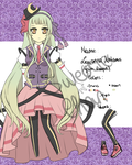 Lewanna Nokomis OC Reference by SweetieChan