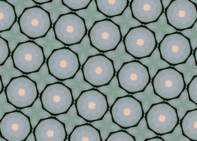 green tiling 2 by Patterns-stock