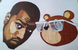 Kanye and Kanye Bear by Bethers7