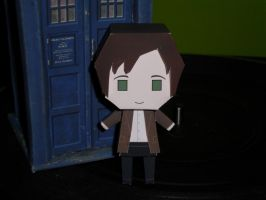 Eleventh Doctor Papercraft Built by Tyulyen