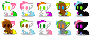 Kitty Adopts(Each 4 points)(OPEN) by Kit-Adopt