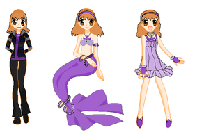 My Mermaid Melody Character by STITCH62633
