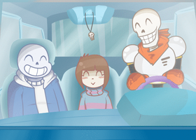 Undertale (animated) by joegirl404