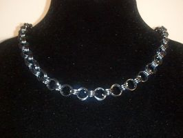 Chainmaille Necklace by MysticalMayhemJewel