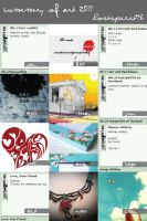 Summary of Art 2011 by lostspirit46