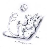 .: Playing Catch the ball :. by PrideAlchemist7