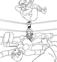 Jobber school : Day one lineart by Shabazik