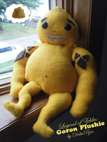 Legend of Zelda: Goron Plushie by DekuPyro