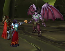 We Gave Illidan a Cookie by Silverr-x