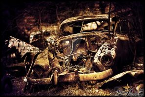 cemetry of cars by adhitama