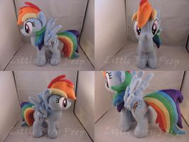 MLP Rainbow Dash Plush by Little-Broy-Peep