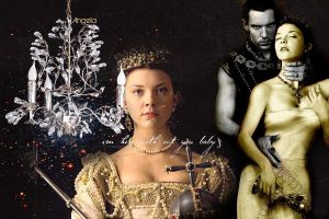 Anne Boleyn and Henry VIII by 25djadja