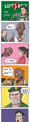 Left 5 Dead by mivion