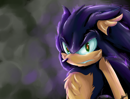 .:Dark Sanic:. by AzureDreamrealm