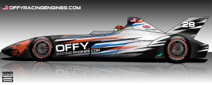 DeltaWing Indycar 2012 - Offy by hanmer