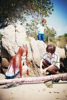 Nagi no Asukara   private -6 'Crab or Shell?' by basilicum84