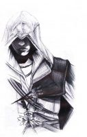 Ezio Auditore da Firenze by RebeccaReporting